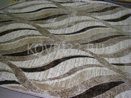 Ковёр  SANDORA  E225A-FR175  WHITE-L BROWN
